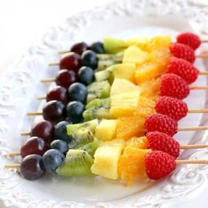 Brochette-de-fruits