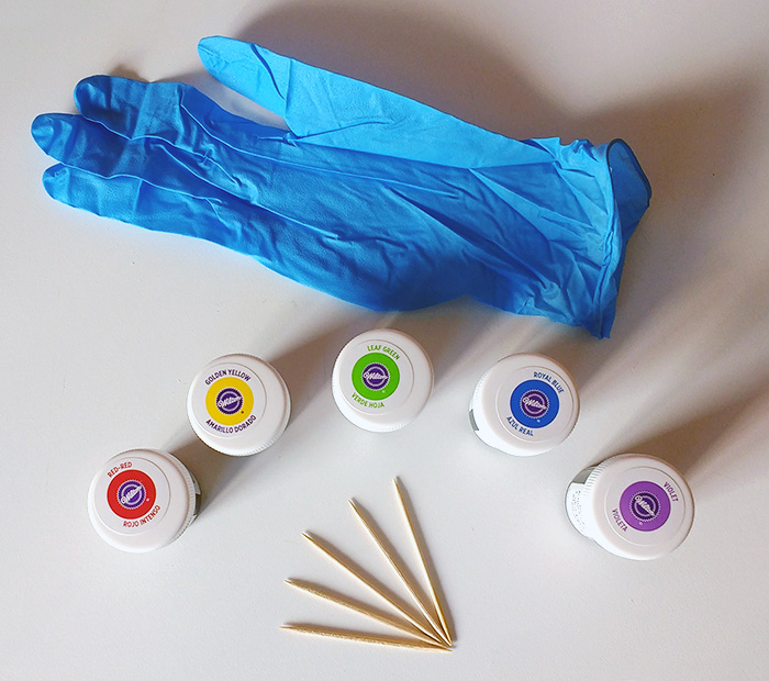 colorants gel - Dosage Colorant Alimentaire Liquide