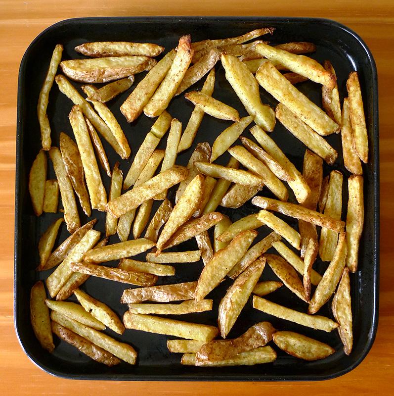 Frites au four aline bianca cuisine - Frites pour friteuse au four ...