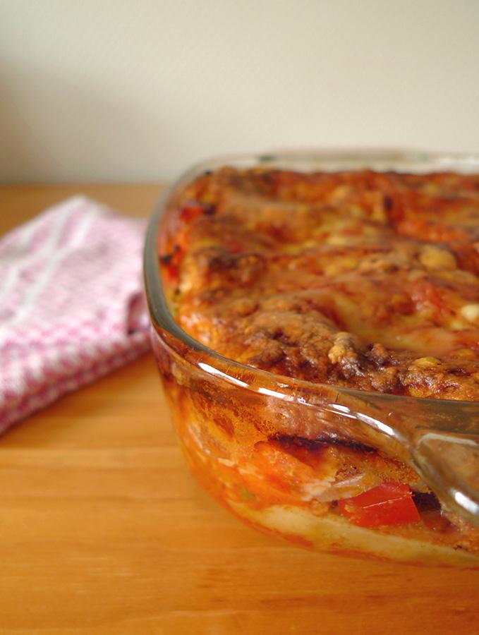 Lasagnes-chili