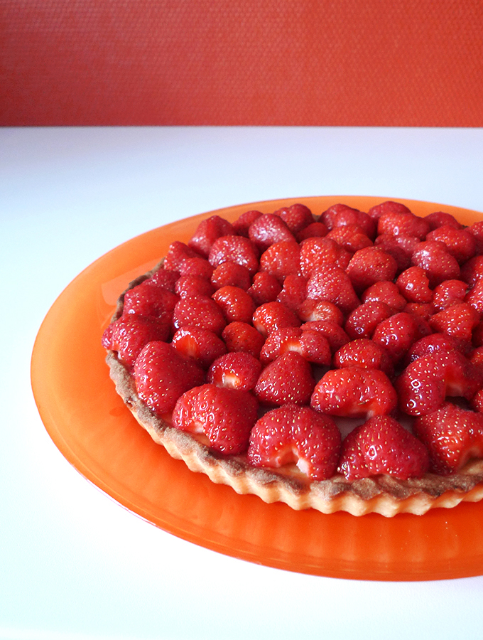 tarte p tissi re aux fraises aline bianca cuisine. Black Bedroom Furniture Sets. Home Design Ideas