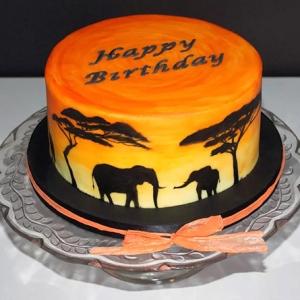 Sunset-cake