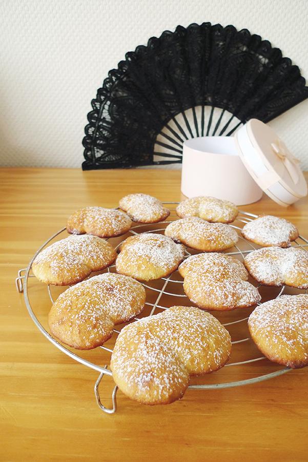 Biscuits miel, citron et huile olive